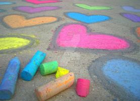 Chalk Love by OliviaPhae