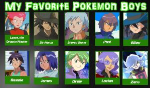 PKMN: Favourite Poke-Boys Meme by Drag0n-Mistr3ss