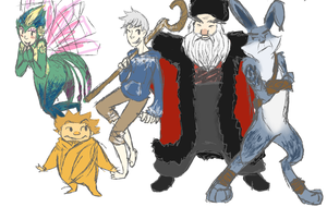 Rise Of The Guardians by Mi-Star