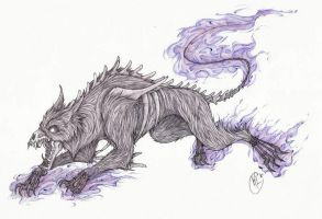 Hellhound by RaptorBarry