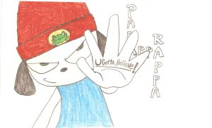 Parappa the Rapper by Agent-Eli