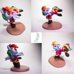 :Commission: Never Leave you hanging by dustysculptures