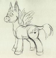 work doodle: When Jenny Grows Up... by Tatta-doodles