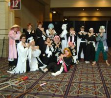 Bleach characters by crazy-love2draw