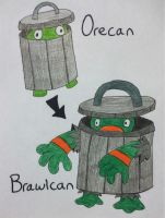 Fakemon: Orecan, Brawlcan by Brawl483