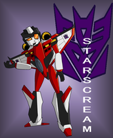 Starscream by xPenguinxPuffx