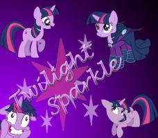 Twilight Sparkle Background by bdiddy20128