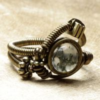 steampunk jewelry ring U by CatherinetteRings