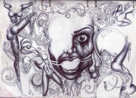 Sketch for journey into chaos and concupiscence by Antonia-Asylum-Queen
