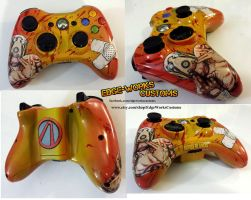 Borderlands 2 Psycho xbox controller by Edge-Works