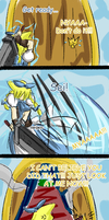 DISSIDIALAND - A Path and Zack by himichu