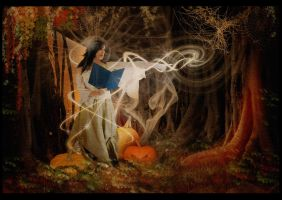 On All Hallow's Eve by wakingdreamer