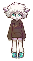 [ SOLD ] sheepy girl - comes with PIXEL ICON by Sergle