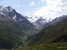 Blick ins Taschachtal by Martina-WW