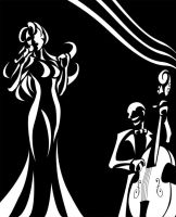 Jazz Festival design by OniChild