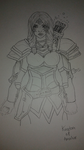 Kingdom Of Amalur The Fateless One WIP by Tinalbion