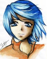 watercolors -Moria-OC by Sophie--Chan