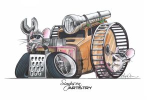 RatRod by SIMPSONARTISTRY