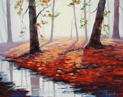 Autumn Sunlight by artsaus