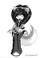 .:Carla the Wolf:. by LauryPinky972