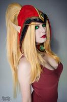 Valeera Makeup test by Kinpatsu-Cosplay