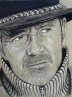 portrait drawing in pastels and charcoal by donnabe