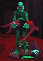 Moebius Model's  CREATURE FORM THE BLACK LAGOON 09 by EVysther