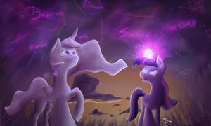 Tia and Twi - Show you the Night by Koolkat1337