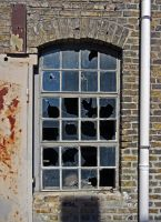 Old Factory Window by fumar-porros
