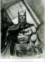 Batman sketch by munkeybill