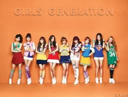 SNSD BABY-G WALLPAPER by ExoticGeneration21
