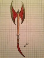 Axe/Sword by angelholmes