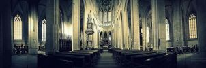 Prague 2012 Cathedral panorama 2 by ReseInsomniac