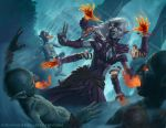 Dark Elf Magic by johnnymorrow