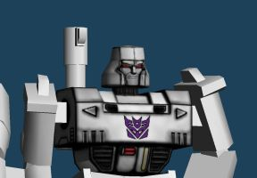 Megatron_Head_Torso_Retexture by monkeyrum