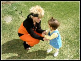 Cosplay Naruto : Love Children by DinyChan
