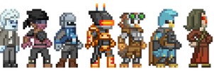 d3skins - Starbound OCs (outdated) by d3skinner