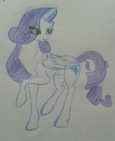 Rarity by Ms-Julie