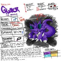 Crusher the Nidoking - REFERENCE by Glamophonic