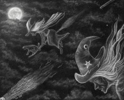 Flight of the Coven by PhilipHarvey