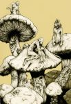fungus people by nicktheartisticfreak