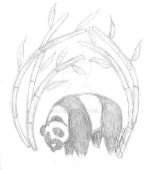 Sad Panda by kyphi5