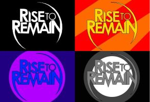 Rise To Remain Logo combo by SWPoisonBite