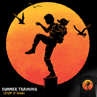 Summer Training - tee by InfinityWave
