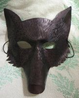 Leather Fang Mask by Ferngirl