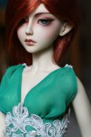 Green Lady of the Knoll by LhiannanSidhe