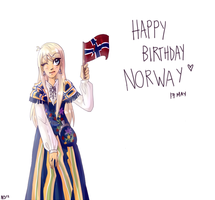 Happy Birthday Norway by Nekoshiba