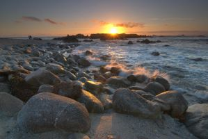 Sunset, Pacific Grove, CA by nrbennett
