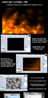 Terrible Fire Tutorial for Paint.NET by Chardove