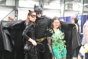 Batman, Catwoman, and Poison Ivy by VoiceofSupergirl